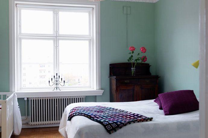 Sovrum - fin väggfärg