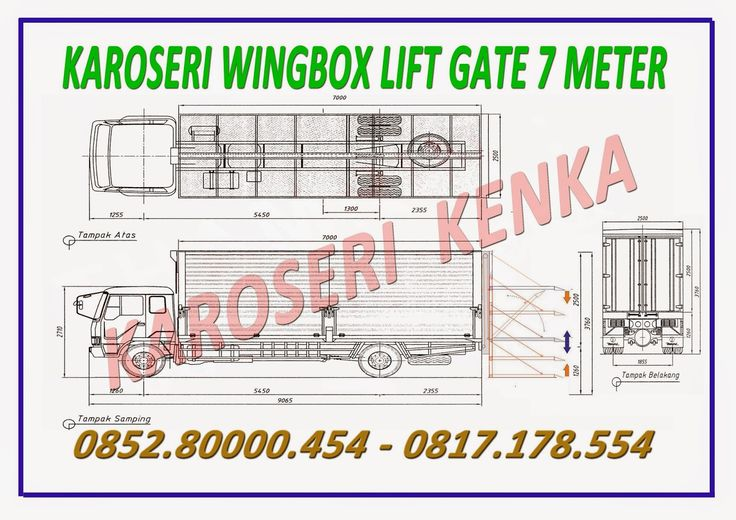 KAROSERI WINGBOX LIFT GATE >> KAROSERI KENKA
