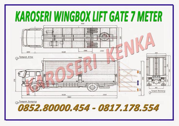 KAROSERI WINGBOX LIFT GATE >> KAROSERI KENKA