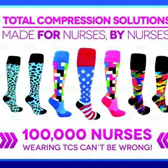 100,000 nurses can't be wrong! TCS compression socks are medical grade FDA approved compression socks perfect for anyone who stands for long periods of time, flys a lot or sits for long periods ✅✅✅These TCS compression socks prevent painful swollen feet and ankles #texasnurse #policeofficer #securityguard #hospitallife #hairstylist #airportsecurity
