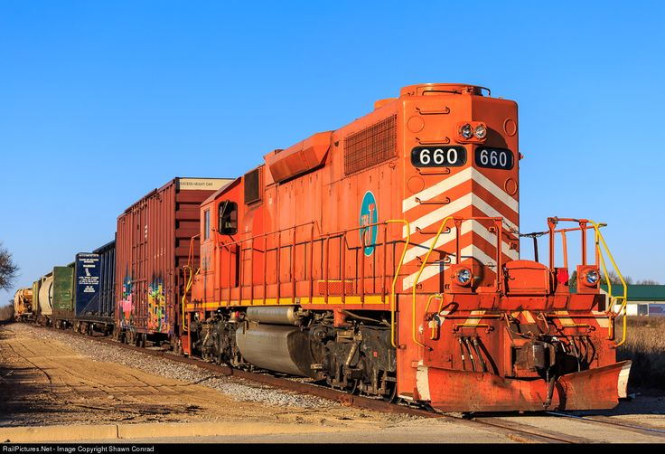 RailPictures.Net Photo: EJE 660 Elgin, Joliet & Eastern Railway EMD SD38-2 at West Bend, Wisconsin by Shawn Conrad