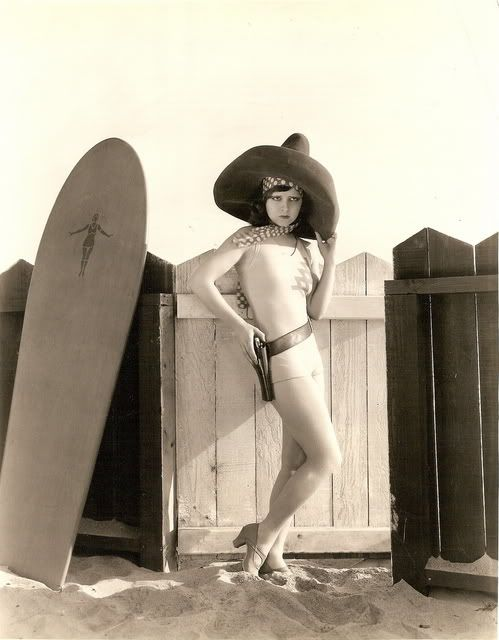 surfer girlSurfer Girls, Guns, Vintage Photos, Clara Bows, Moonchild Vintage, At The Beach, Bath Suits, Surfers Girls, Surfers Cowgirls