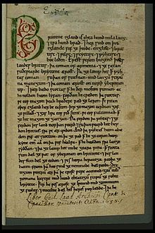 literature from the anglo saxon period through Anglo-saxon poetry: characteristics & examples  the second important trait of anglo-saxon literature is christian ideals in adapting to christianity, the anglo-saxons also fit their.