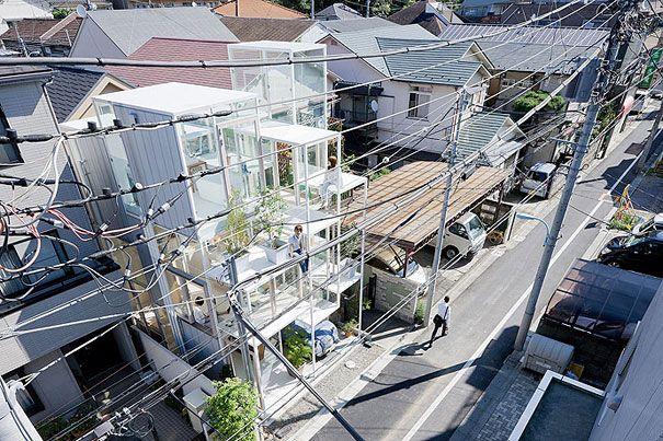 Transparent House in JapanFavorite Places, Iwan Baan, Transparent House, Fujimoto Architects, Tokyo, Architecture Japan, Bored Pandas, The Zoos, Sou Fujimoto