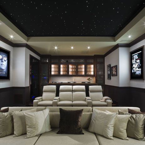 Theater with star-lit ceiling