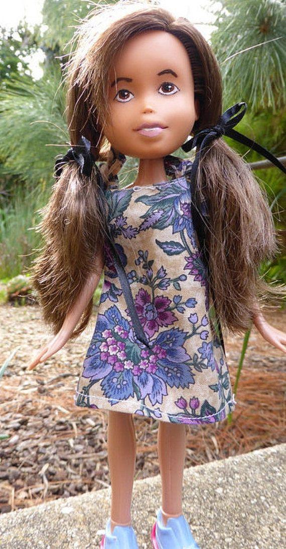 Gum Leaf Doll  OOAK made under Bratz doll with by thecraftypioneer