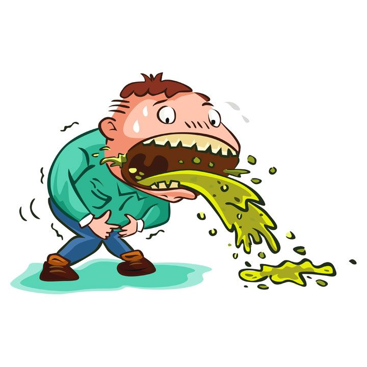 Con le frasi sul vomito e sulle cose che fanno vomitare entriamo in un ambito che, all'apparenza, può non essere gradito a tutti. In ogni caso, buona lettura.