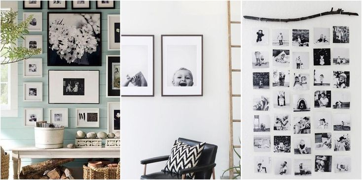 9 ideas para exhibir esas fotos especiales en casa