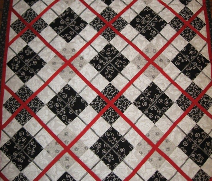 Best 25 Black Quilt Ideas On Pinterest In 2020 Red And White