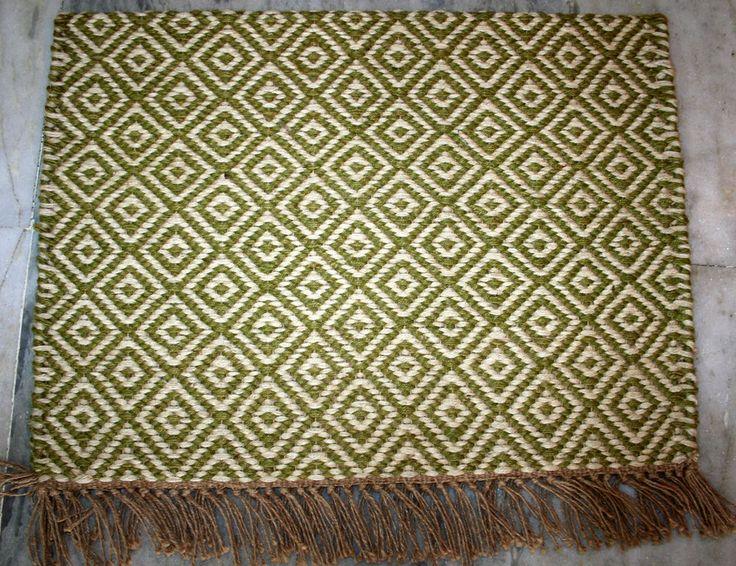 Hand Woven Floor Kilim Mat 2x3 Feet Home Decor Kilim Mat Small Mat Free Shipping #Turkish