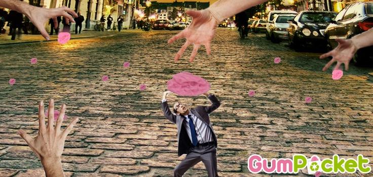 BASTA città sommerse dai chewing gum!!
