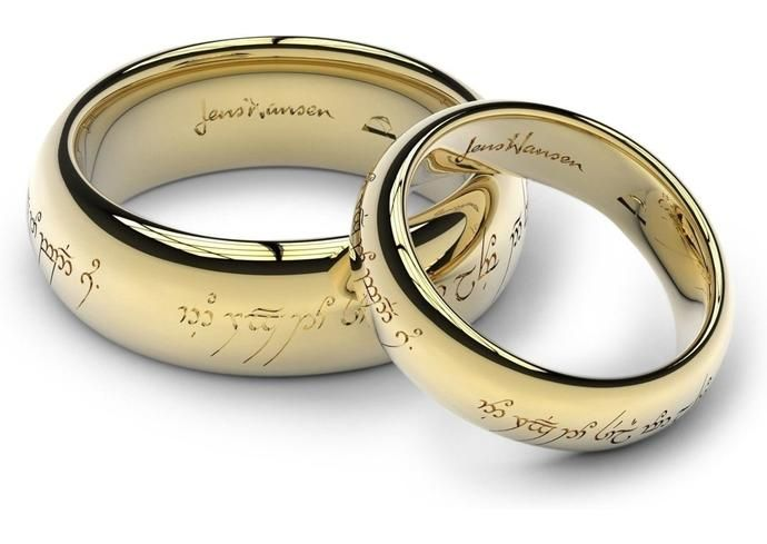 Rings For The Pleasure Called Love 7 In 2020 Lotr Wedding Ring
