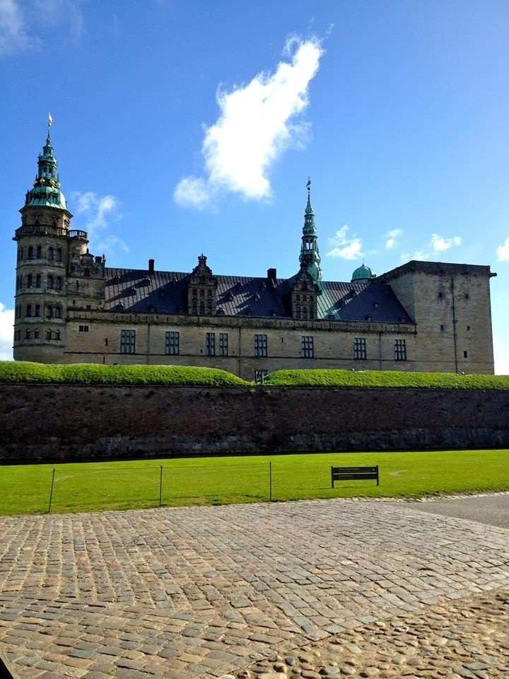 Kronborg Castle in Helsingør, Denmark