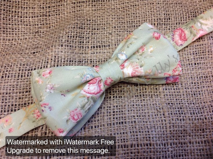 Handmade bespoke double layer bow tie from Lilly Dilly's x #Lilly Dilly's #wedding #special occasion #floral #vintage #bow tie #groom #ushers #bridal party #page boy #mint green #pastel #accessories