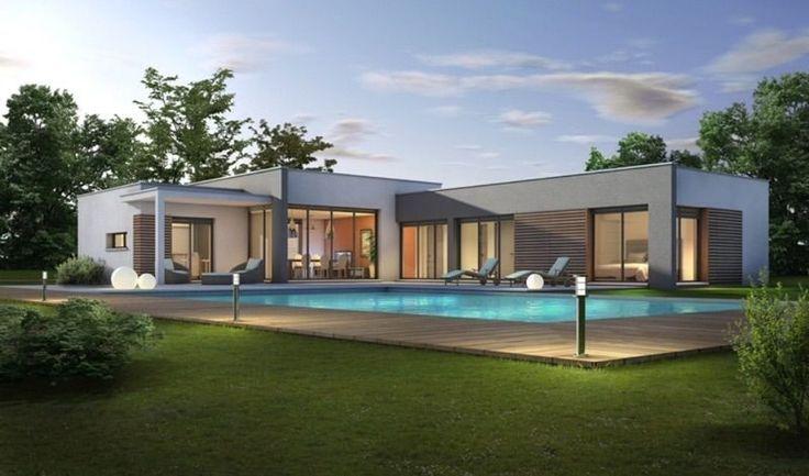 [Idées architecture et déco][Haute Garonne (31)] Maison en L assemblage de cubes avec le garage à rajouter