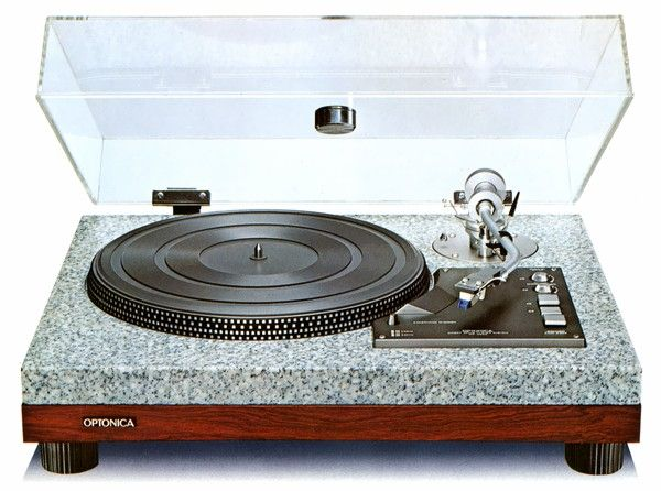 Optonica, a division of Sharp, made this stunning turntable.