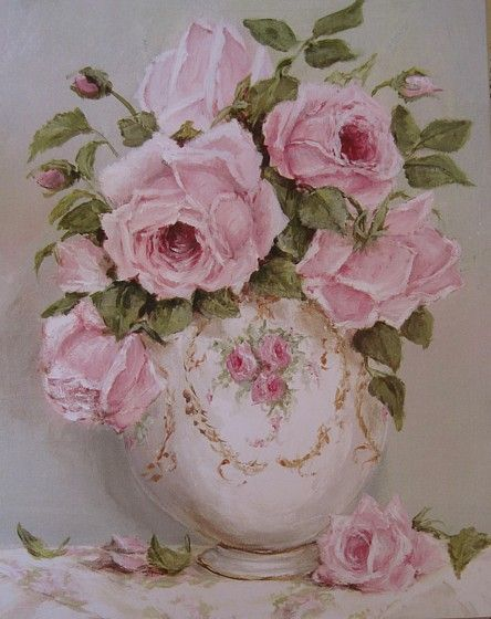17 best images about rose artistry on pinterest cabbage for Peinture shabby chic