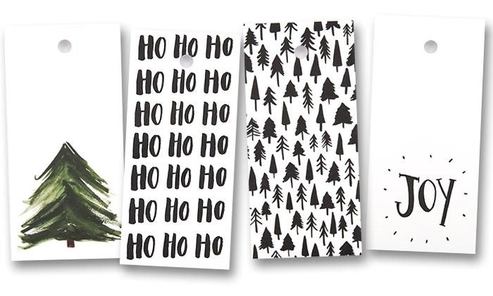 Need a final flourish to finish your Christmas presents? Check out these Christmas gift tags from Lucky 44  http://prettypaperthings.com/?p=6327