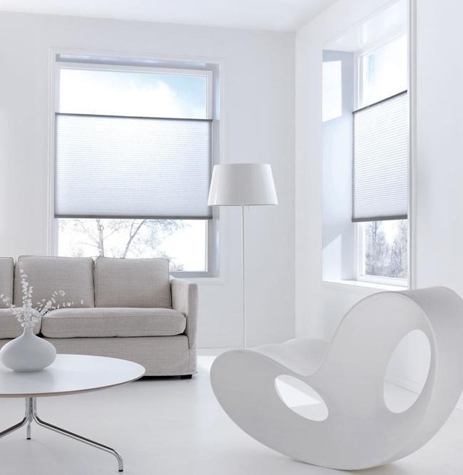 gordijnen plisse, interieur, raamdecoratie