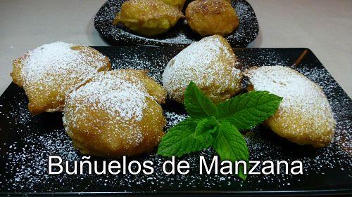 Buñuelos de manzana (receta casera)