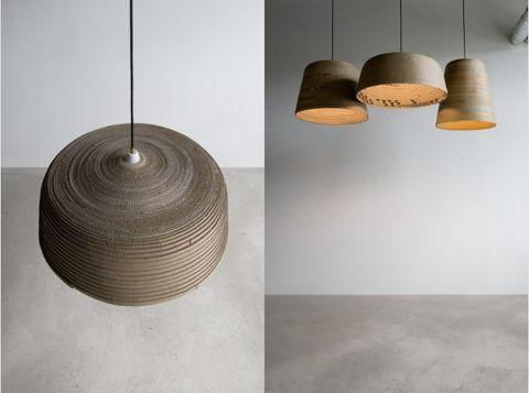 Herrwolke: Beute Lampshade Made Of Cardboard. Diy LampshadePaper LampsLamp  ...