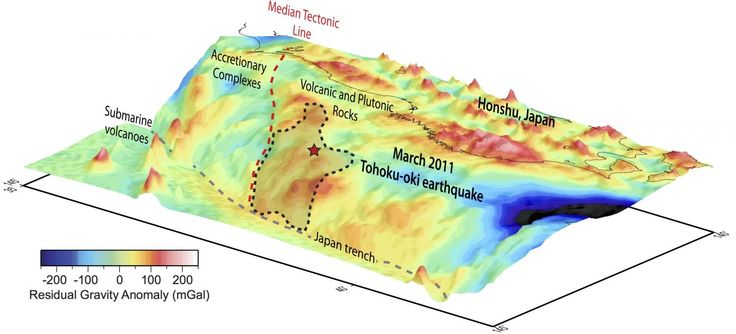 New study pinpoints stress factor of mega-earthquake off Japan | Geology Page