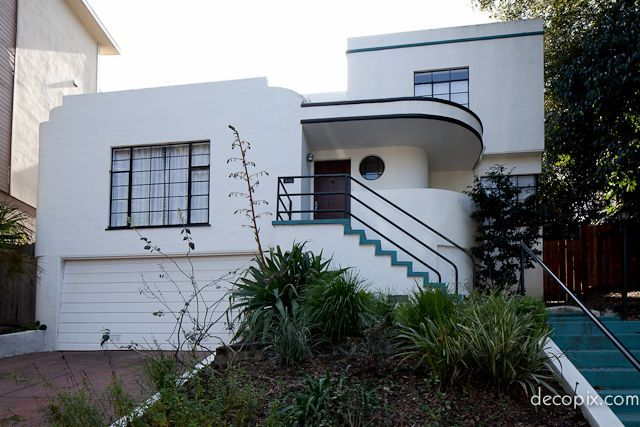 Streamline Moderne House, California.