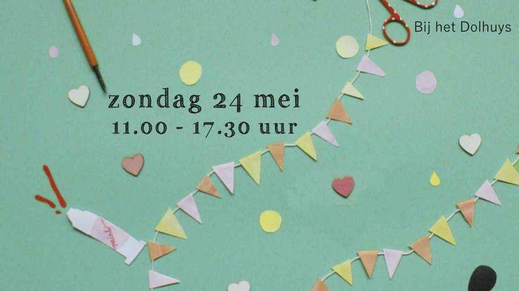 We hebben de smaak te pakken wat betreft de markten. Dus zijn we binnenkort weer te vinden op een creatieve markt. Dit keer op de markt: Designwezen in Haarlem bij het Dolhuys op de Schotersingel op 24 mei. Na de vorige keer hebben we weer veel leuke tassen, kussens en ...