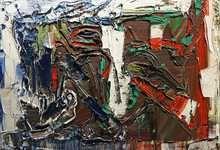 Jean-Paul RIOPELLE (1923-2002) - Mint. Follow the biggest painting board on Pinterest: www.pinterest.com/atelierbeauvoir