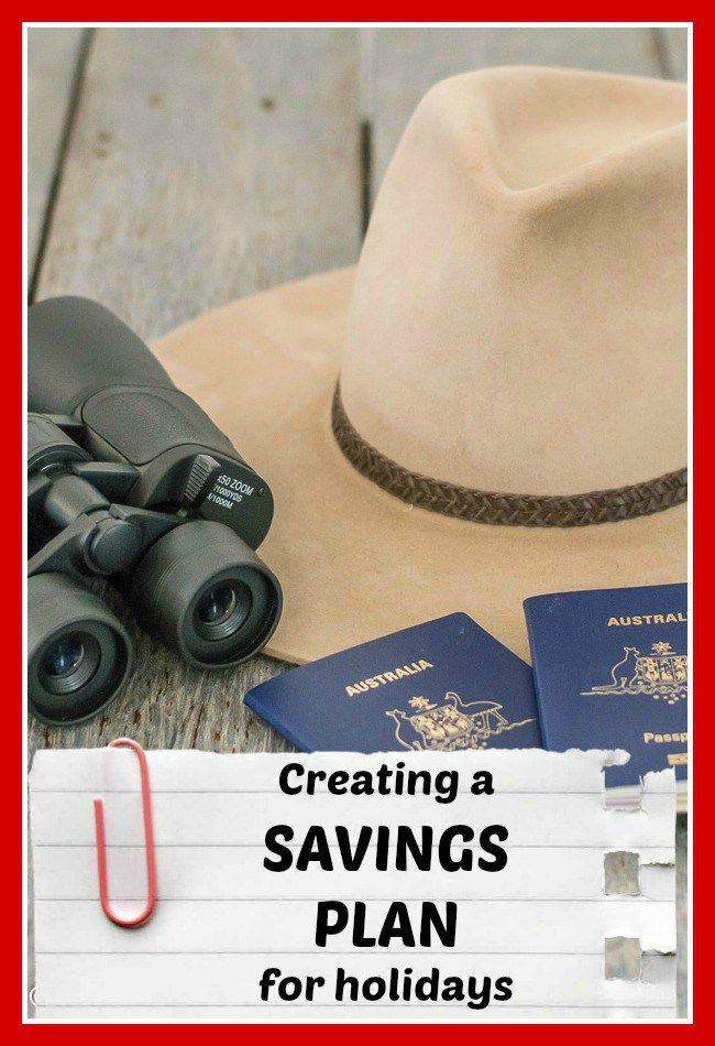 Click the image above for how to create a savings plan for holidays