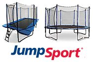 They come in the #JumpSport, Inc. Round & Rectangular #trampoline sizes. Order online at http://www.jumpsport.com/trampolines.htm or call 1.888.567.5867 for more info :)