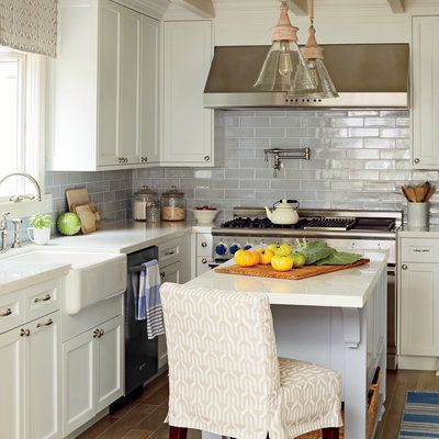 California Beach Bungalow Makeover. Kitchen NookKitchen StuffKitchen  IdeasCoastal ...