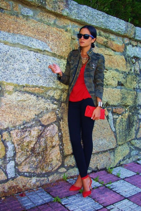 24 Military clothing- fashion trend for this season ‹ ALL FOR FASHION DESIGN