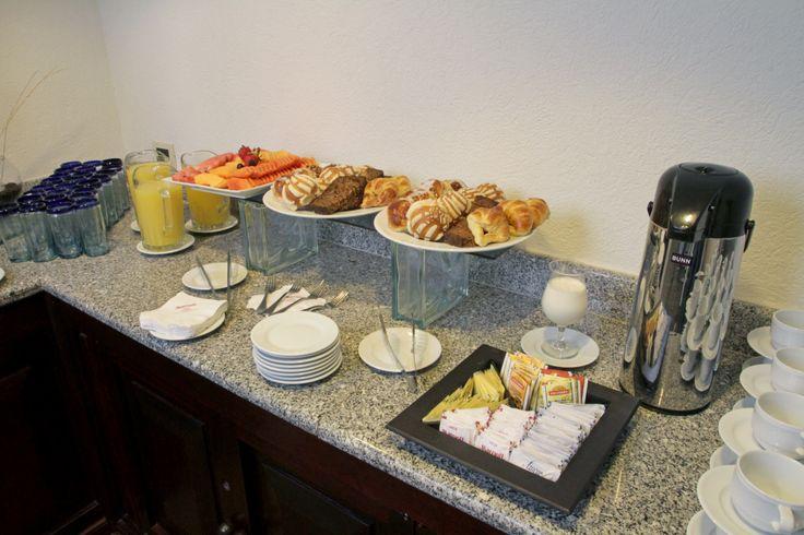 Lunch Break en Marriott Puebla