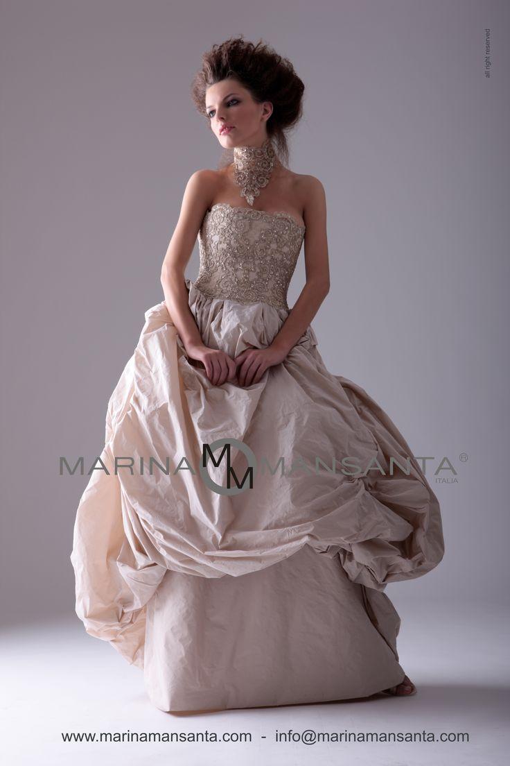 MARINA MANSANTA Collezione Muse, Modello Pompadour