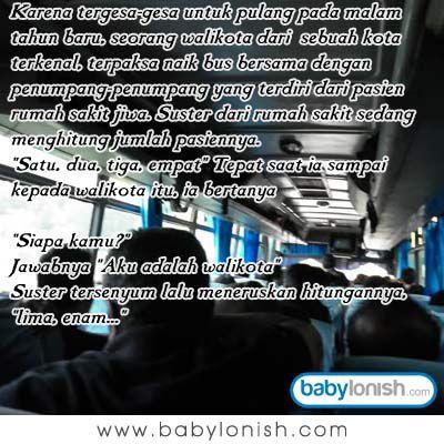 Kisah Pak walikota di malam tahun baru.. Yuk simak humor ini..  Semoga harimu menyenangkan... www.babylonish.com