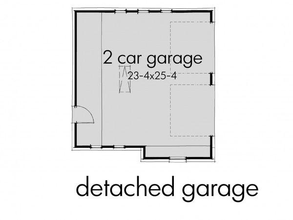 Craftsman Style House Plan - 3 Beds 2.00 Baths 1421 Sq/Ft Plan #120-174 Floor Plan - Other Floor Plan - Houseplans.com