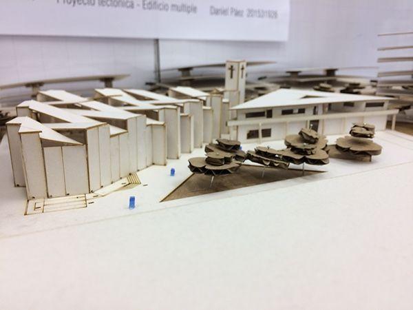 Edificio multiple - Proyecto Tectónica
