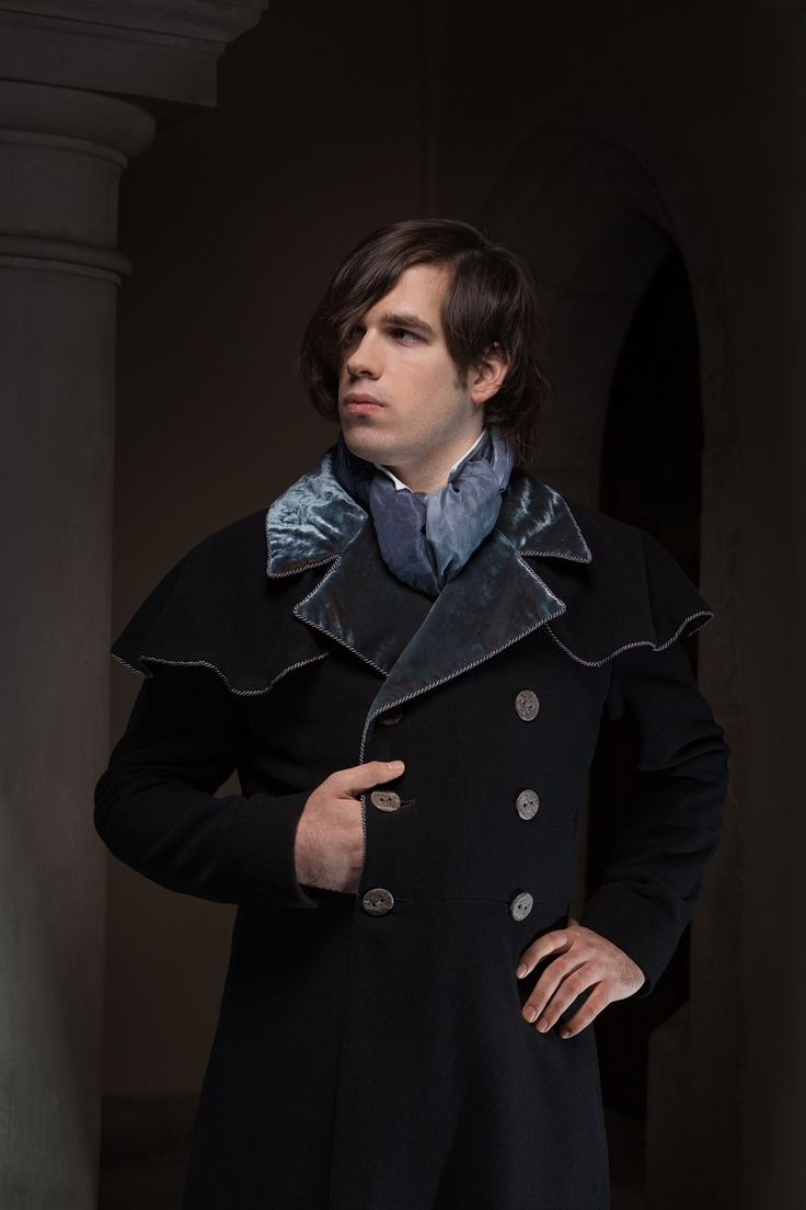 Frock coat in early 19th c. style.