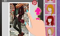 Create and choose wonderful new outfits, styles and the freshest looks with just a couple of clicks. Select freestyle or challenge mode for your favorite picture-perfect looks and share it with followers on Pinterest? Pin your hair or pin the style or just pin the latest fashion trends for inspiration in this happy pinning dressup game!