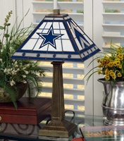 Dallas Cowboys lampTable Lamps, Glasses Tables Lamps, Mission Lamps, Auburn Tigers, Florida Gator, Dallas Cowboy, Georgia Bulldogs, Stained Glasses, Mission Style