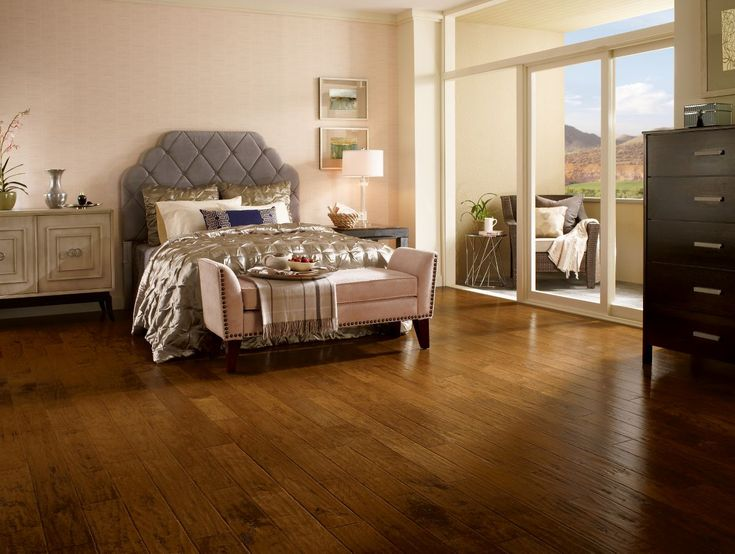 Frontier Color Brushed Light Mocha | Bedroom | Hardwood Floors | Design Inspiration | Home Decor Ideas |