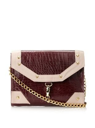 81% OFF JJ Winters Women's Kate Cross-Body with Buckle, Burgundy