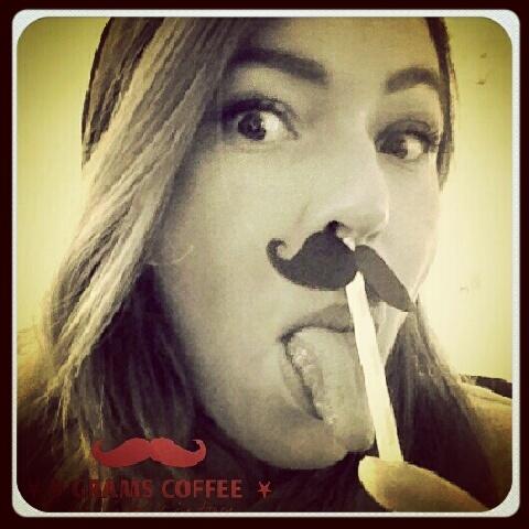 mustache 9 grams coffee