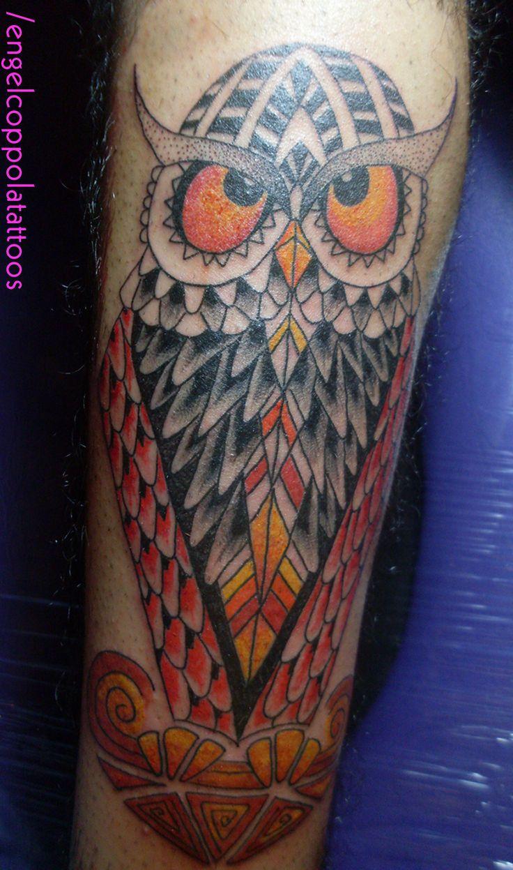 #tattoo #owl #OwlTattoo #buho #colourfullOwl #tatuaje #buenoAires