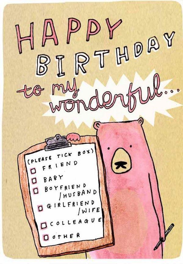 cute birthday sayings for boyfriend