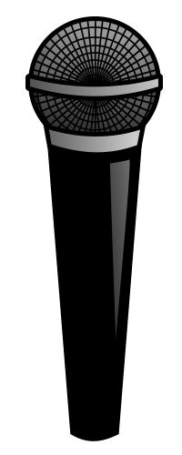 Draw a simple cartoon microphone using your vector software and a few basic tips.