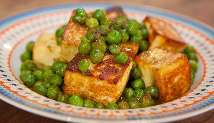 Matar Paneer - Good Chef Bad Chef