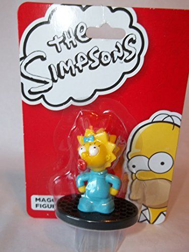 2 the Simpsons  Maggie Simpson  Plastic Toy Figurine Birthday Cake Topper @ niftywarehouse.com #NiftyWarehouse #TV #Shows #TheSimpsons #Simpsons