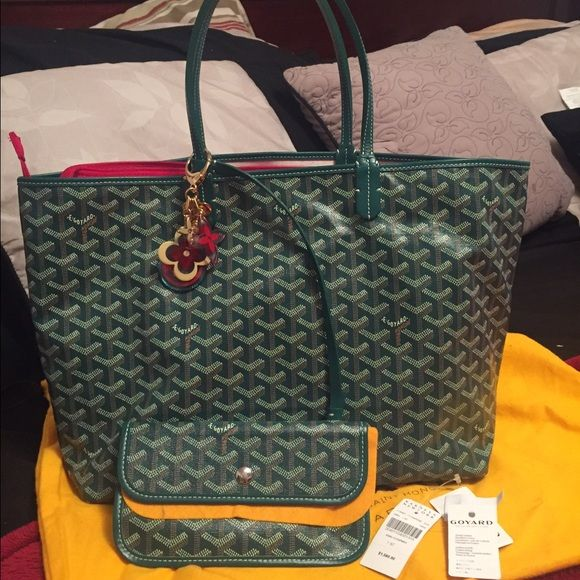 Authentic Goyard Bag This authentic Goyard Bag. New condition with dust bag and the tag. Please check photos. Retail price $1560 + tax. Goyard Bags Totes